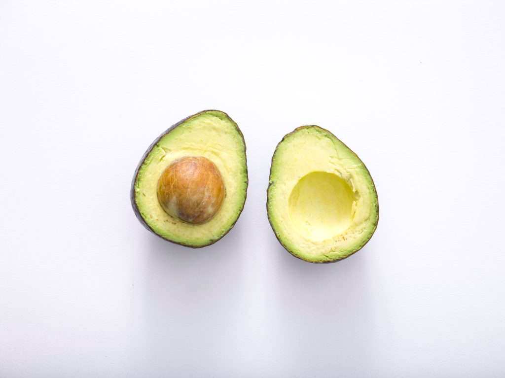 Round Avocado with Large Pit