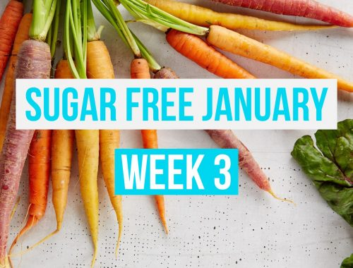 Sugar Free January Week 3 Meal Plan